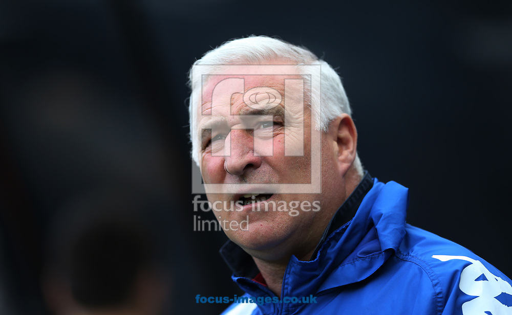 Wigan Athletic caretaker manager Graham Barrow prior to the Sky Bet Championship match at St. James's Park, Newcastle<br /> Picture by Simon Moore/Focus Images Ltd 07807 671782<br /> 01/04/2017