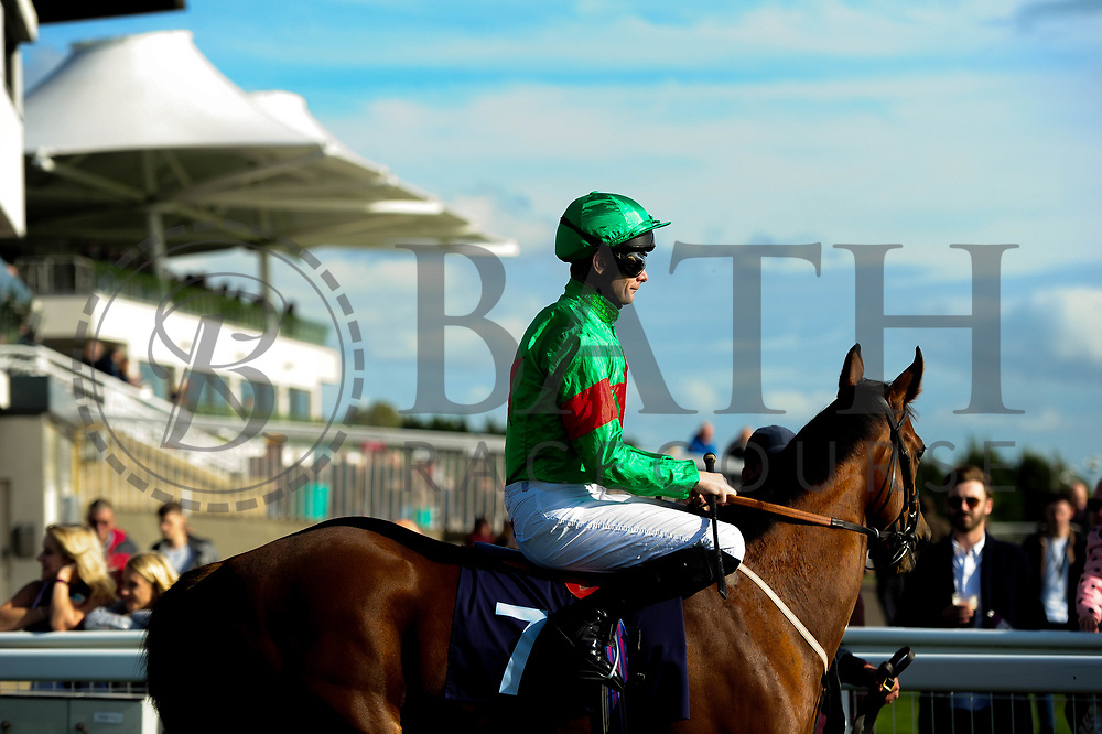 The Red Witch ridden by R Havlin and trained by Steph Hollinshead - Ryan Hiscott/JMP - 16/10/2019 - PR - Bath Racecourse - Bath, England - Race Meeting at Bath Racecourse