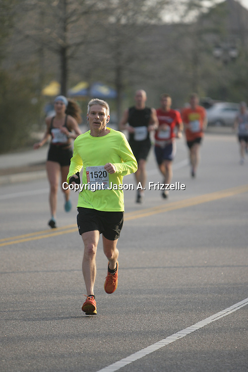 Nearly 3,000 runners participated in the Quintiles Marathon and Half Marathon at Wrightsville Beach Sunday March 16, 2014. The race began in Wrightsville Beach, N.C. and ended in Wilmington, N.C. (Jason A. Frizzelle)