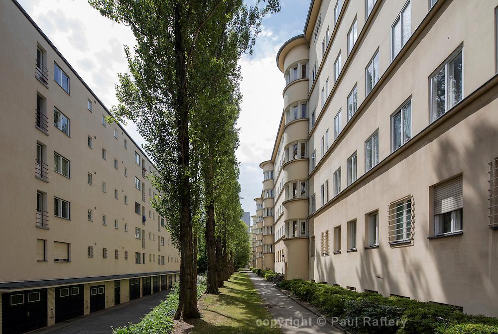 Erich Mendelsohn's Woga - Schaubuhne cinema, theatre and housing complex in Berlin.