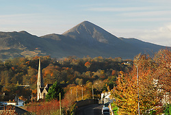The View from Horkans Hill, Holy Trinity and Croagh Patrick..Pic Conor McKeown.