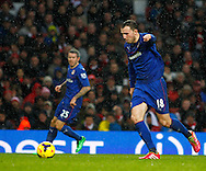 Picture by Mike  Griffiths/Focus Images Ltd +44 7766 223933<br /> 01/01/2014<br /> Jordan Mutch of Cardiff City during the Barclays Premier League match at the Emirates Stadium, London.