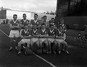 17/03/1961<br /> 03/17/1961<br /> 17 March 1961<br /> Soccer: League of Ireland v Irish League at Dalymount Park, Dublin. The League of Ireland team.