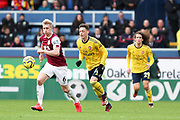Burnley defender Ben Mee in action during the Premier League match between Burnley and Arsenal at Turf Moor, Burnley, England on 2 February 2020.