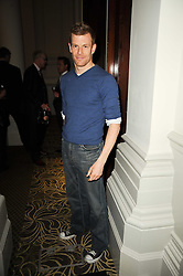 Chef TOM AIKENS at the Tatler Restaurant Awards, at the Langham Hotel, Portland Place, London n 10th May 2010.