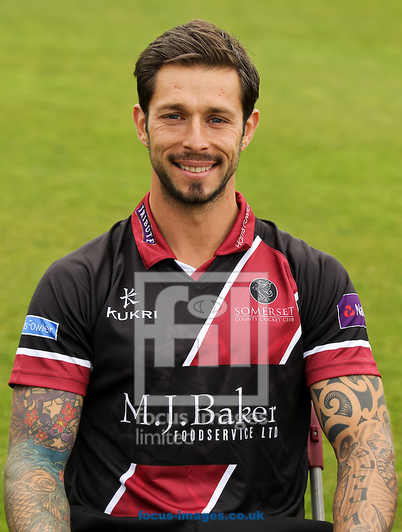 Peter Trego pictured during Somerset County Cricket Club media day at the County Ground, Taunton, Taunton<br /> Picture by Tom Smith/Focus Images Ltd 07545141164<br /> 31/03/2014