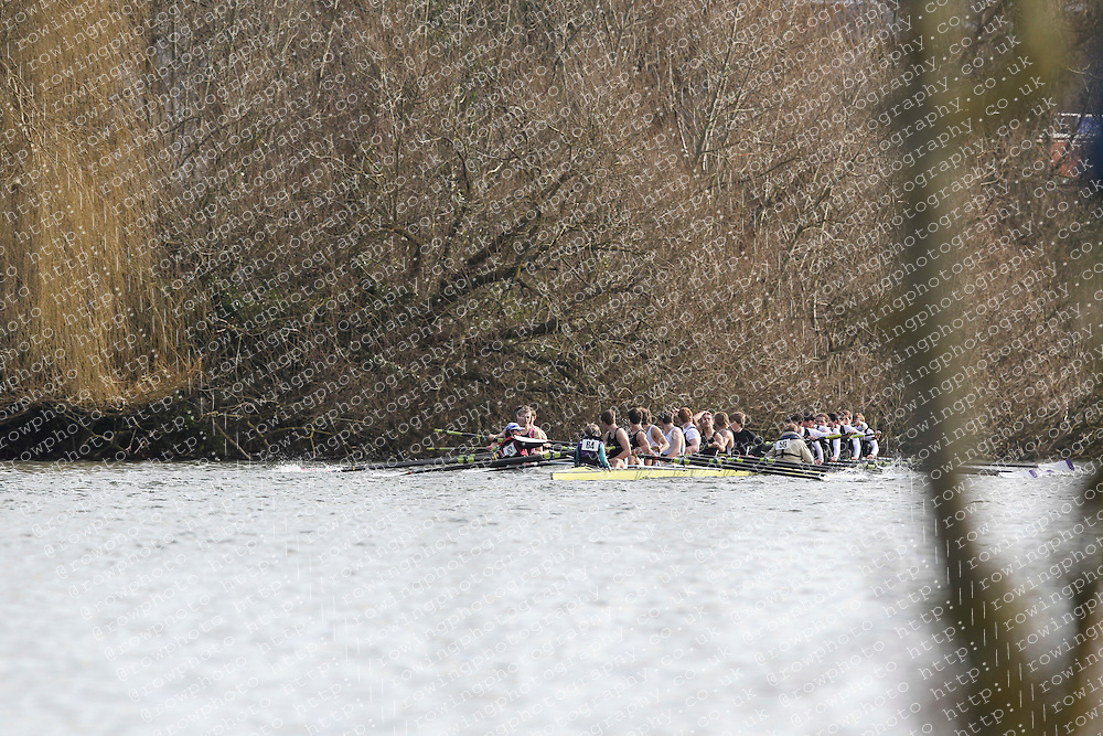 2012.02.25 Reading University Head 2012. The River Thames. Division 1. J18A Melee