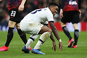 Tottenham Hotspur forward Steven Bergwijn in action during the Champions League match between Tottenham Hotspur and Leipzig at Tottenham Hotspur Stadium, London, United Kingdom on 19 February 2020.