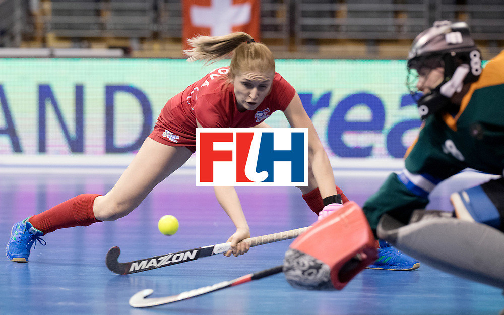 BERLIN - Indoor Hockey World Cup<br /> Women: Russia - Czech Republic<br /> foto: VORLOVA Anna.<br /> WORLDSPORTPICS COPYRIGHT FRANK UIJLENBROEK