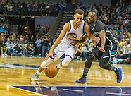 20151202 NBA Warriors v Hornets