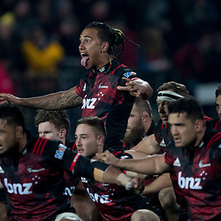Haka during game 3 of the British and Irish Lions 2017 Tour of New Zealand,The match between  Crusaders and British and Irish Lions, AMI Stadium, Christchurch, Saturday 10th June 2017<br /> (Photo by Kevin Booth Steve Haag Sports)<br /> <br /> Images for social media must have consent from Steve Haag