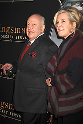 Feb. 9, 2015 - New York, New York, USA - Roger Ailes and his wife Elizabeth Ailes attending the 'Kingsman: The Secret Service' New York premiere at SVA Theater on February 9, 2015 in New York City (Credit Image: © Future-Image/ZUMA Wire)