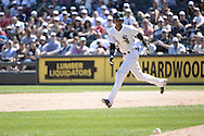 CHICAGO - JUNE 14:  Alexei Ramirez of the Chicago White Sox runs the bases against the Kansas City Royals on June 14, 2014 at U.S. Cellular Field in Chicago, Illinois.   (Photo by Ron Vesely)