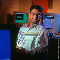Editorial portrait for Investment News.