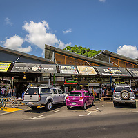Exterior view of Rusty's Markets in Cairns.