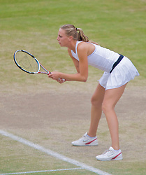 LONDON, ENGLAND - Wednesday, July 2, 2008: Naomi Broady (GBR) during her girls' singles third round match on day nine of the Wimbledon Lawn Tennis Championships at the All England Lawn Tennis and Croquet Club. (Photo by David Rawcliffe/Propaganda)
