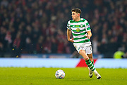 Ryan Christie (#17) of Celtic on the ball during the Betfred Cup Final between Celtic and Aberdeen at Celtic Park, Glasgow, Scotland on 2 December 2018.