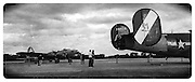 Gary Cosby Jr.  iPhone photographs<br /> A B17 Flying Fortress and B24 Liberator on display at Pryor Field in Decatur, Alabama.