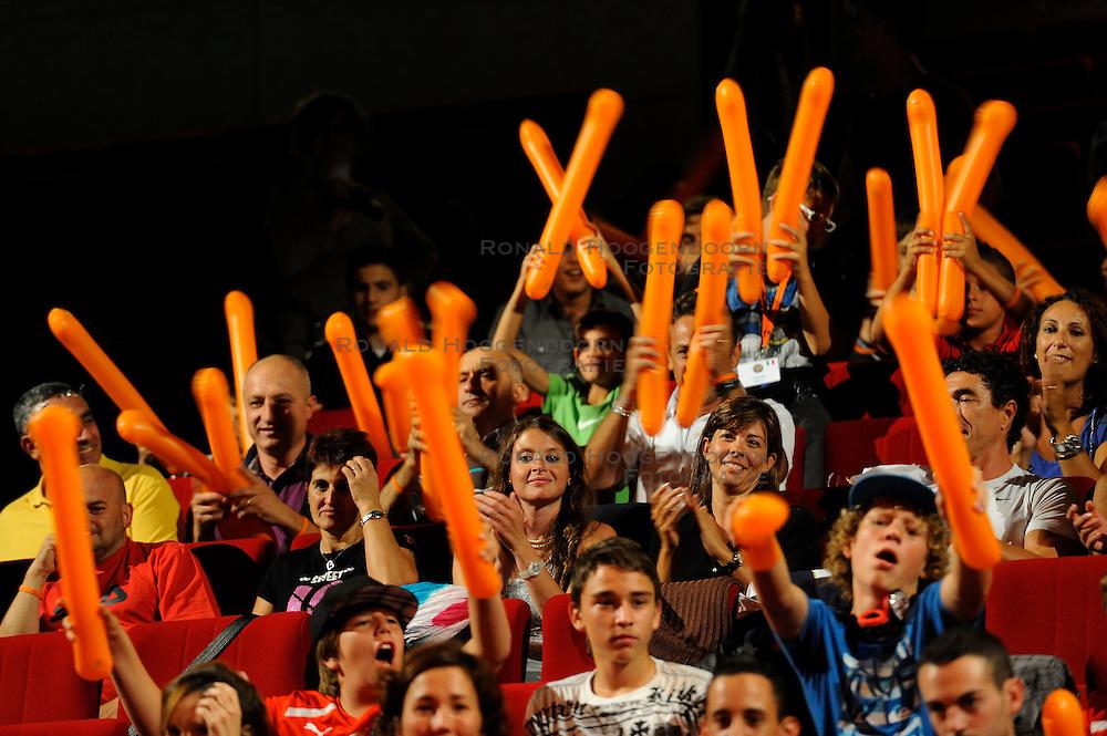 26-08-2011 VOETBAL: WK JUNIORCUP: GENEVE<br /> Bas van de Goor tijdens de officiele opening van het WK<br /> &copy;2011-FotoHoogendoorn.nl