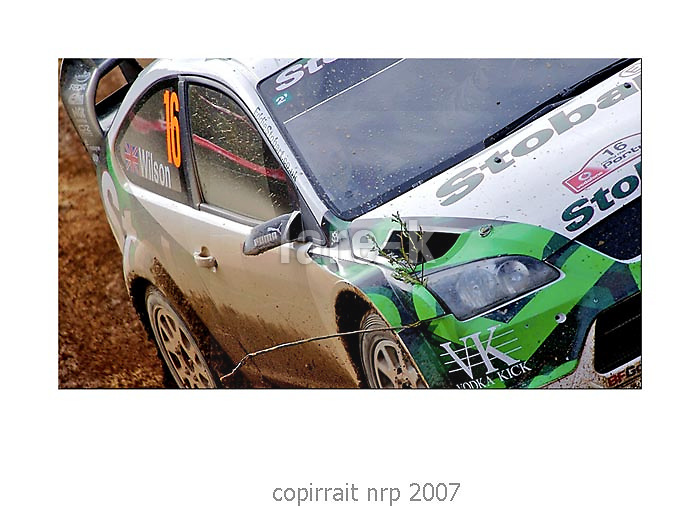 WRC PORTUGAL 2007 MATHEW WILSON<br />