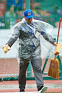 Staff prepare competition at women's hammer throw qualification during the Second Day of the European Athletics Championships Zurich 2014 at Letzigrund Stadium in Zurich, Switzerland.<br /> <br /> Switzerland, Zurich, August 13, 2014<br /> <br /> Picture also available in RAW (NEF) or TIFF format on special request.<br /> <br /> For editorial use only. Any commercial or promotional use requires permission.<br /> <br /> Photo by © Adam Nurkiewicz / Mediasport