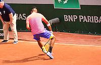Nick KYRGIOS  - 25.05.2015 - Jour 2 - Roland Garros 2015<br />Photo : Dave Winter /  Icon Sport