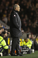 Picture by David Horn/Focus Images Ltd +44 7545 970036.30/01/2013.Martin Jol Manager of Fulham looks on during the Barclays Premier League match at Craven Cottage, London.