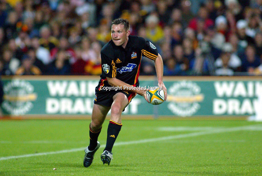 20th February, 2004. Westpac Stadium, Hamilton, New Zealand. Rugby Union Super 12. Chiefs v Hurricanes.<br />