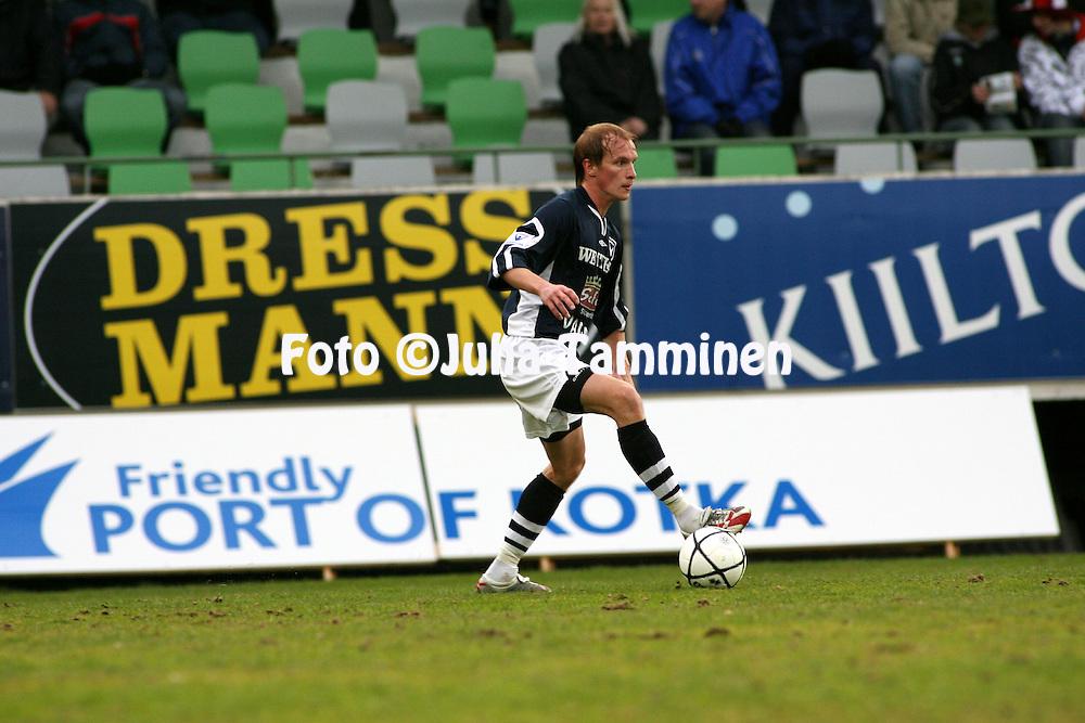 09.05.2007, Arto Tolsa Areena, Kotka, Finland..Veikkausliiga 2007 - Finnish League 2007.FC KooTeePee - AC Oulu.Antti Pehkonen - AC Oulu.©Juha Tamminen.....ARK:k