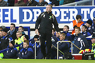 Picture by Paul Chesterton/Focus Images Ltd.  07904 640267.17/12/11.Norwich Manager Paul Lambert during the Barclays Premier League match at Goodison Park Stadium, Liverpool.