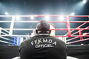 atmosphere during the Muay Thai, Thai Boxing fight between Patrice Quarteron and Sean Tolouee on December 14, 2017 at AccorHotels Arena in Paris, France - Photo Pierre Charlier / ProSportsImages / DPPI