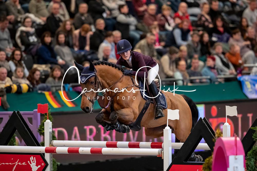 Wulff Lesley, GER, Luigi<br /> Leipzig - Partner Pferd 2019<br /> © Hippo Foto - Stefan Lafrentz