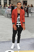 LONDON - JUNE 10:  Lucien Laviscount attends the European Film Premiere of 'Rock Of Ages' at the Odeon Cinema, Leicester Square, London, UK. June 10, 2012. (Photo by Richard Goldschmidt)
