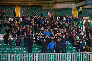 Dundee fans applaud their team after the final whistle  - Celtic v Dundee - Ladbrokes Scottish Premiership at Dens Park<br /> <br />  - &copy; David Young - www.davidyoungphoto.co.uk - email: davidyoungphoto@gmail.com