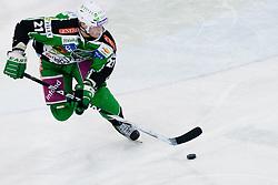 Tomi Mustonen (HDD Tilia Olimpija, #21)during ice-hockey match between HDD Tilia Olimpija and EC Red Bull Salzburg in 26th Round of EBEL league, on November 27, 2011 at Hala Tivoli, Ljubljana, Slovenia. Red Bull Salzburg defeated HDD Tilia Olimpija 6:5 in overtime. (Photo By Matic Klansek Velej / Sportida)