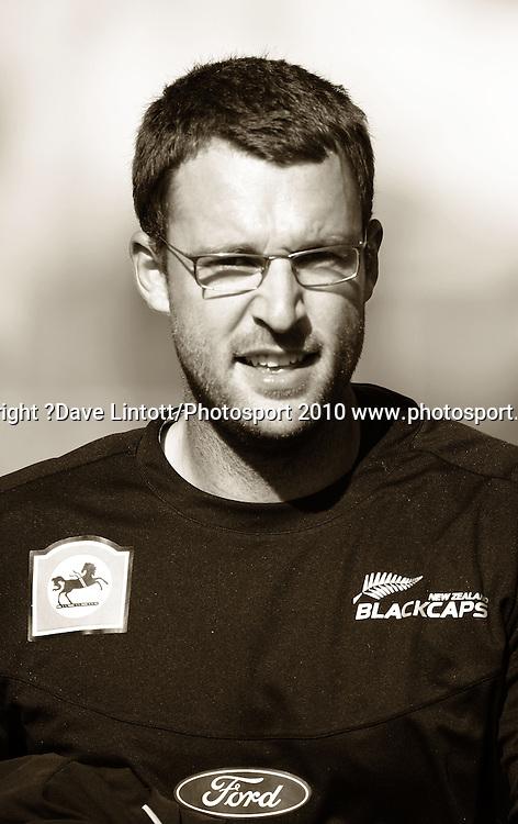 NZ captain Daniel Vettori.<br /> 1st cricket test match - New Zealand Black Caps v Australia, day two at the Basin Reserve, Wellington.Saturday, 20 March 2010. Photo: Dave Lintott/PHOTOSPORT