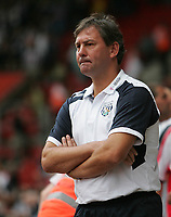Photo: Lee Earle.<br /> Southampton v West Bromwich Albion. Coca Cola Championship. 12/08/2006. Albion manager Bryan Robson.