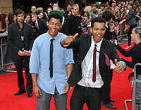 Rizzle Kicks The Inbetweeners Movie world premiere, Vue Cinema, Leicester Square, London, UK, 16 August 2011:  Contact: Rich@Piqtured.com +44(0)7941 079620 (Picture by Richard Goldschmidt)