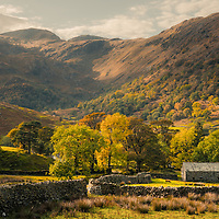 Autumn on the Kirkstone Pass, Lake District, Cumbria