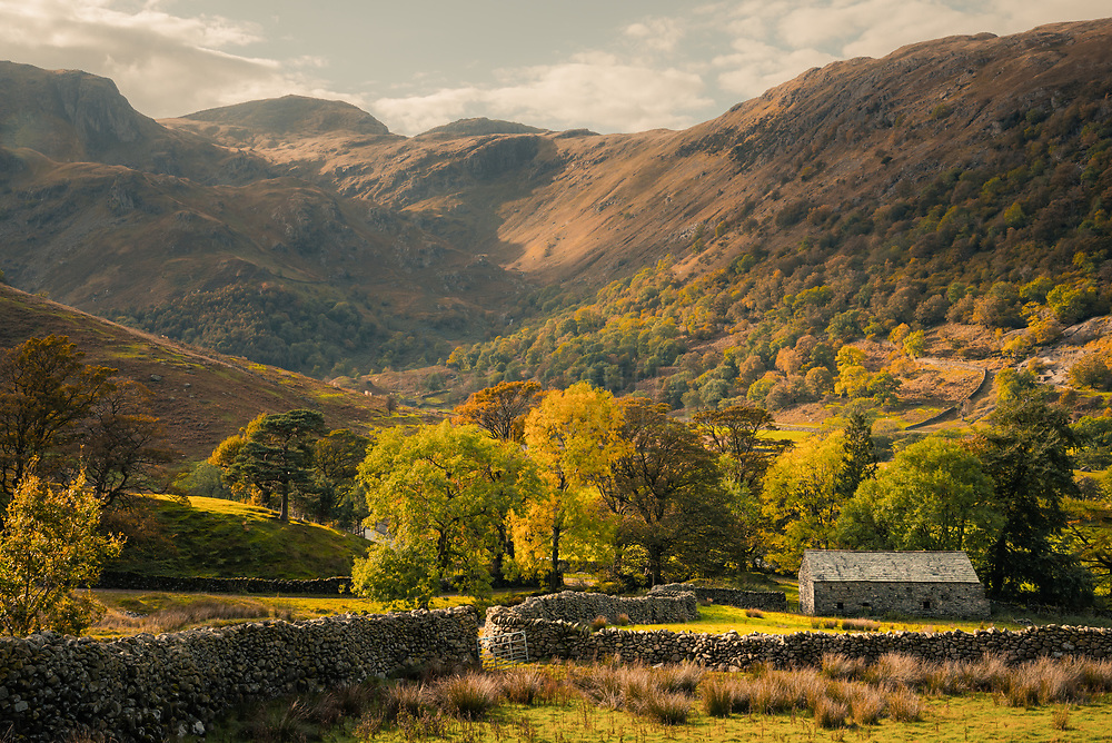 Autumn on the Kirkstone Pass, Lake District, Cumbria