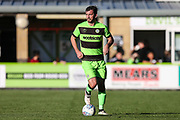 Forest Green Rovers Gavin Gunning(16) during the EFL Sky Bet League 2 match between Forest Green Rovers and Cheltenham Town at the New Lawn, Forest Green, United Kingdom on 20 October 2018.
