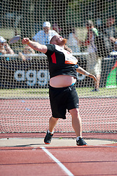 TRUDGEON Kenneth, CAN, Discus, F46, 2013 IPC Athletics World Championships, Lyon, France
