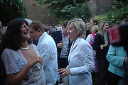 Valerie Grove and Tina Brown. Spectator party. Doughty St. London. 28 July 2005. ONE TIME USE ONLY - DO NOT ARCHIVE  © Copyright Photograph by Dafydd Jones 66 Stockwell Park Rd. London SW9 0DA Tel 020 7733 0108 www.dafjones.com