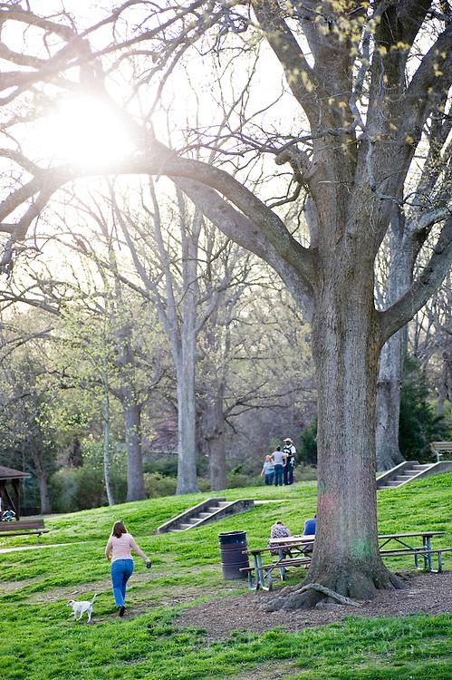 Pullen Park, Raleigh, NC.