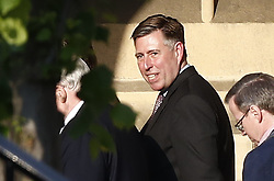 © Licensed to London News Pictures. 22/05/2019. London, UK. Sir Graham Brady Chairman off the 1922 committee is seen walking in Parliament. Photo credit: Peter Macdiarmid/LNP