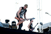 My Darkest Days performing at Carolina Rebellion in Charlotte, NC on May 7, 2011