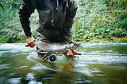 North Fork Nehalem Fly  Fishing Photos - Stock images
