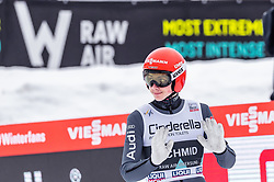 17.03.2019, Vikersundbakken, Vikersund, NOR, FIS Weltcup Skisprung, Raw Air, Vikersund, Einzelbewerb, Herren, im Bild Constantin Schmid (GER) // Constantin Schmid of Germany during the individual competition of the 4th Stage of the Raw Air Series of FIS Ski Jumping World Cup at the Vikersundbakken in Vikersund, Norway on 2019/03/17. EXPA Pictures © 2019, PhotoCredit: EXPA/ JFK