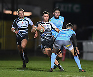 Alex Webber of Pontypridd<br /> <br /> Photographer Mike Jones/Replay Images<br /> <br /> Principality Premiership - Neath v Pontypridd - Friday 16th March 2018 - The Gnoll Neath<br /> <br /> World Copyright &copy; Replay Images . All rights reserved. info@replayimages.co.uk - http://replayimages.co.uk