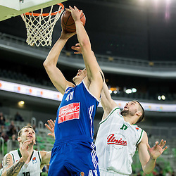 20151230: SLO, Basketball - ABA League 2015/16, KK Union Olimpija vs KK Cibona Zagreb